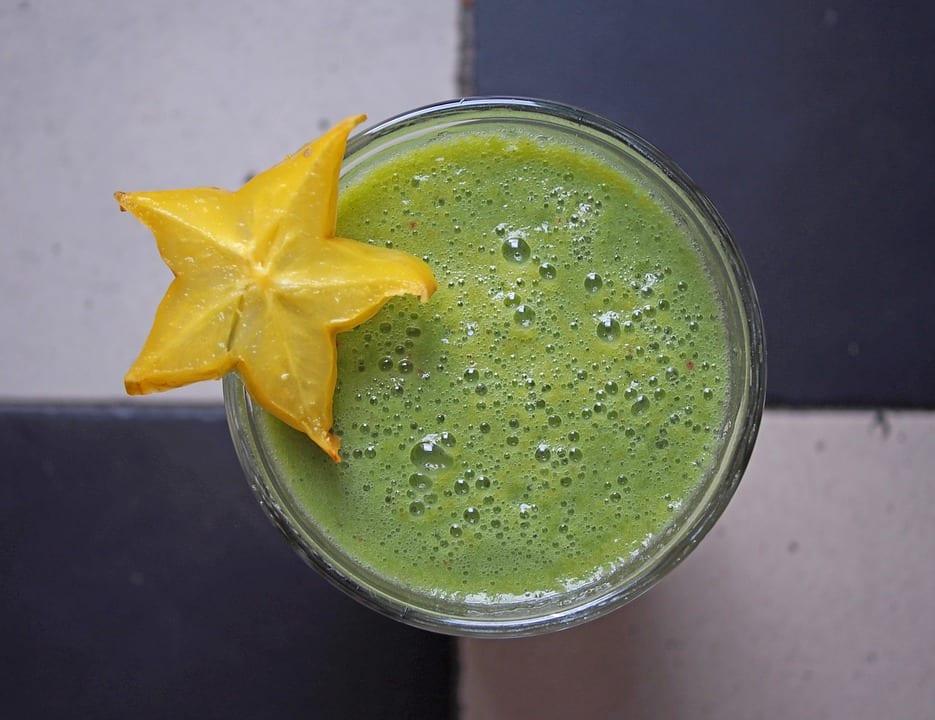 green chocolate protein shake recipe