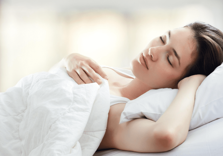 proper sleep position to avoid neck pain