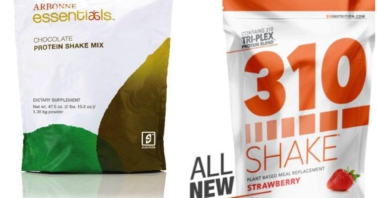 310 Shake vs Arbonne Protein Shake Review