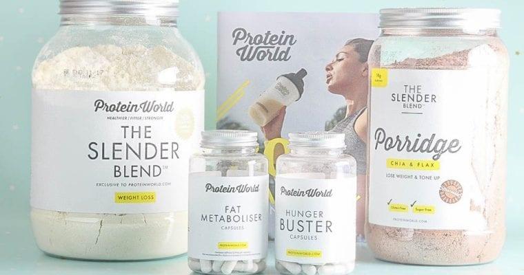 Protein World Slender Blend Reviews