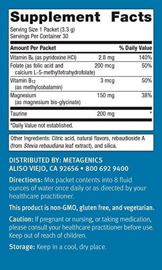 metarelax ingredients