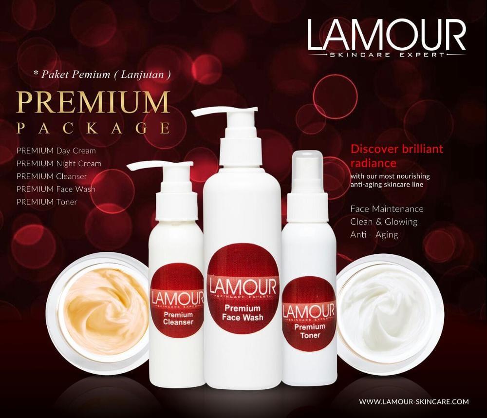 Lamour Skincare Paket Premium