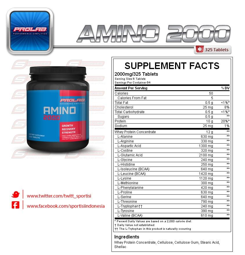 prolab amino 2000 reviews