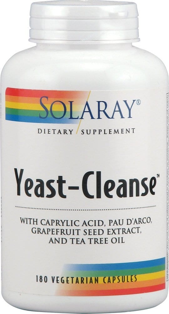 solaray yeast cleanse reviews