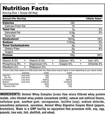 Universal Whey Protein reviews