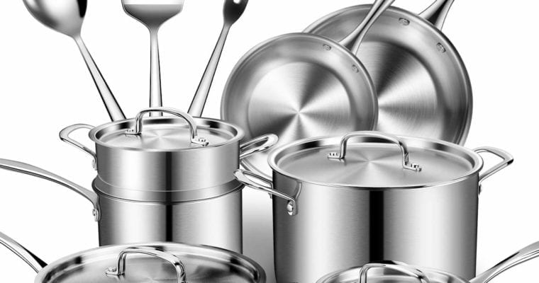 Tips To Choose Stainless Steel Cookware For Modern Style Kitchen