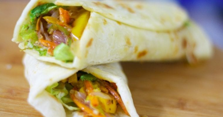 Delicious Roti Wrap Recipes for lunch and dinner