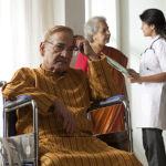 What are the difficulties faced by the elderly in India?