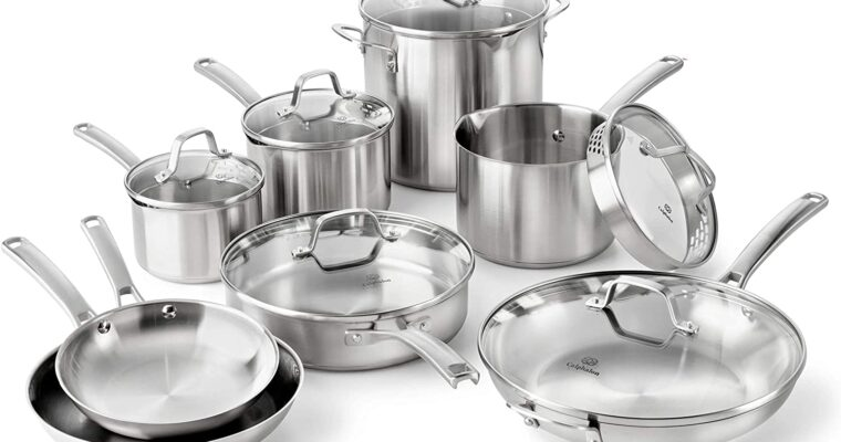 STAINLESS STEEL COOKWARE: 5 THINGS TO REMEMBER WHEN CHOOSING A SET.