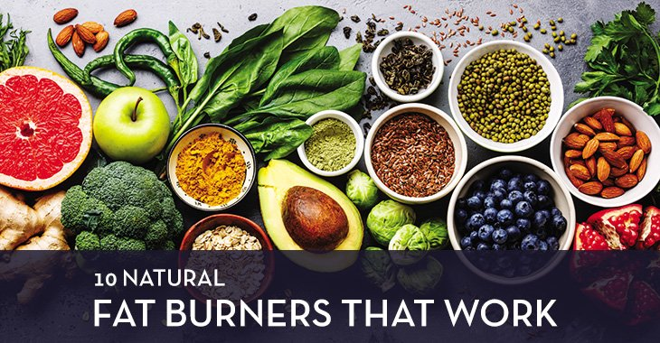 Top Ten Natural Fat Burners