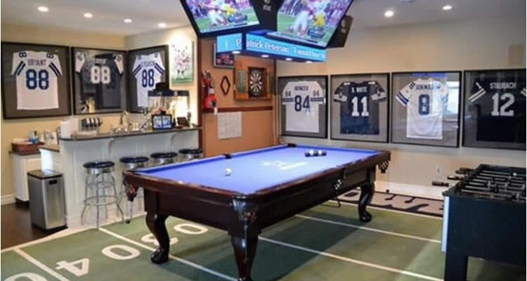 How to Design the Ultimate Sports Man Cave: 6 Tips for You to Follow
