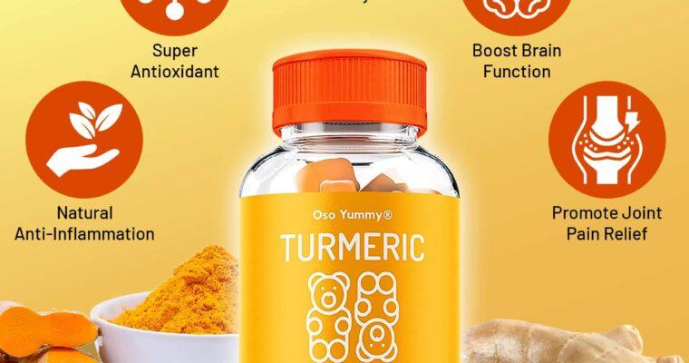Amazing Benefits Of Tumeric Gummies Supplements To Human Health