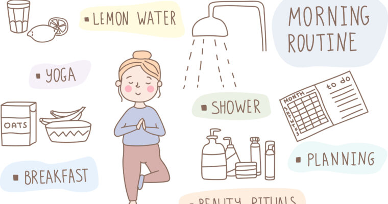 Having A Daily Morning Routine: Habits For Good Health