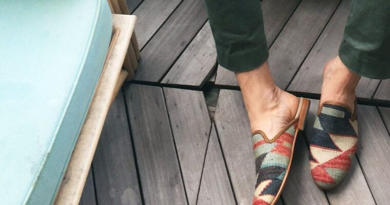 With Kilim Shoes On, You're Wearing a Piece of History