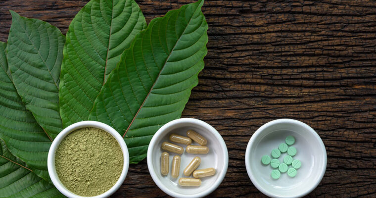 What is the role of Kratom in pain relief?