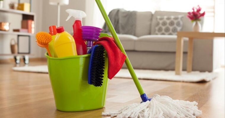 Have Your Children Help You Clean Your Home