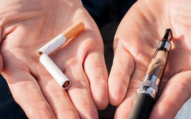 Are e-cigarettes more harmful than regular cigarettes?